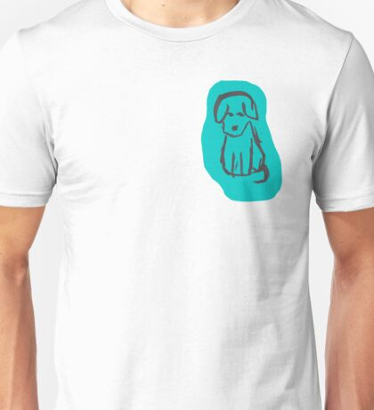 Remi the Puppy Sketch Unisex T-Shirt