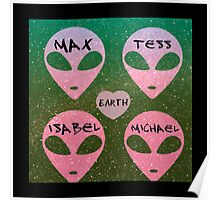 roswell royal four tv show aliens earth names Poster