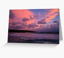 Redgate sunset Greeting Card
