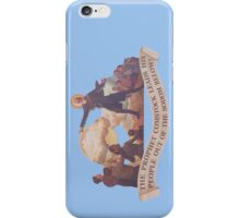 BioShock Infinite – The Prophet Leads His People from the Sodom Below iPhone Case/Skin