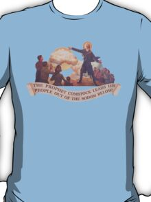 BioShock Infinite – The Prophet Leads His People from the Sodom Below T-Shirt