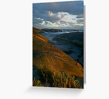 Elephant Rocks at sunset Greeting Card