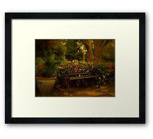 Banquette Framed Print