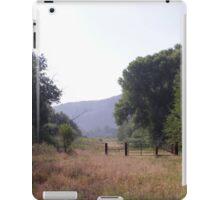 Western Fence iPad Case/Skin