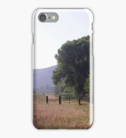 Western Fence iPhone Case/Skin