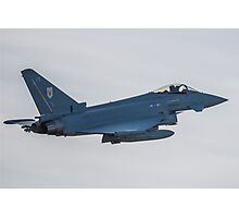 RAF Typhoon ZK330-FT No1 Squadron Photographic Print