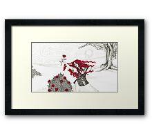 flower child Framed Print