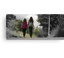 Friendship cartoon Canvas Print