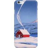 Red House iPhone Case/Skin