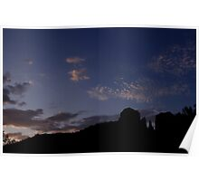 Cathedral Rock Sunrise Poster