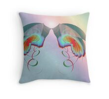 Rainbow Chaser Throw Pillow