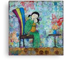 Mother and Child No. 3 Canvas Print