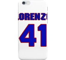 National football player Lorenzo Neal jersey 41 iPhone Case/Skin