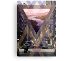 Escape From The City Metal Print