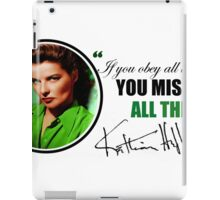 Katharine Hepburn iPad Case/Skin