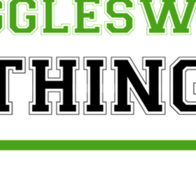 It's a WRIGGLESWORTH thing, you wouldn't understand !! Sticker