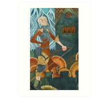 Sera Tarot Art Print