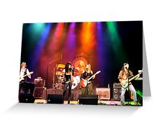 on Stage! Greeting Card
