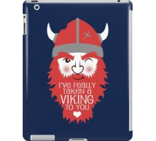 Viking to you iPad Case/Skin