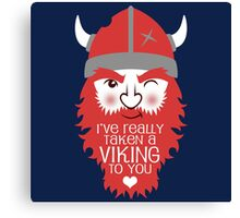 Viking to you Canvas Print