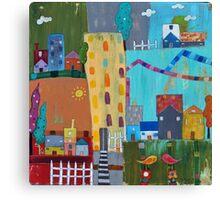 Towns  Canvas Print