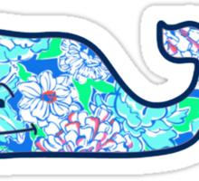 Blue May Flower Sticker