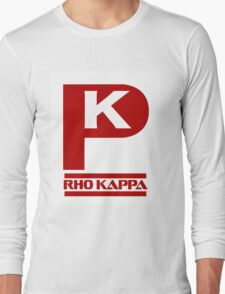 Rho Kappa Shirt Logo 3 Long Sleeve T-Shirt