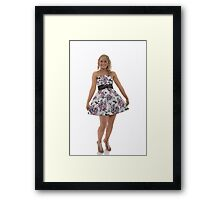 off to the deb  Framed Print