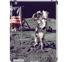Planting the Flag on the Moon iPad Case/Skin