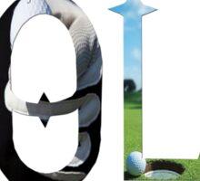 Dymond Speers Golf Sticker