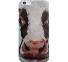 Curious Cow iPhone Case/Skin