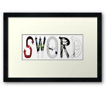 Dymond Speers SWORD Framed Print