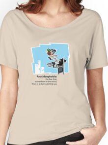 Anatidaephobia Women's Relaxed Fit T-Shirt