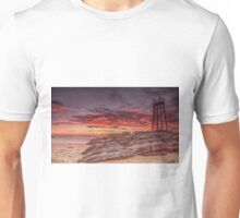 Red Sunrise Redhead Beach Unisex T-Shirt