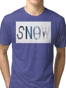 Dymond Speers SNOW Tri-blend T-Shirt