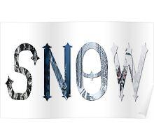 Dymond Speers SNOW Poster