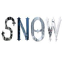 Dymond Speers SNOW Photographic Print