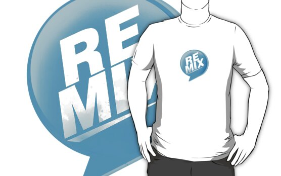 Remix tee by Adrián Romero