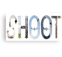Dymond Speers SHOOT Canvas Print