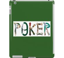 Dymond Speers POKER iPad Case/Skin