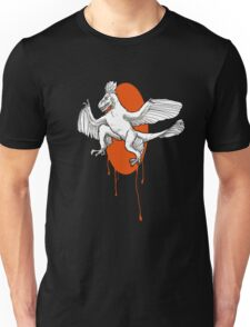Sunset Microraptor  Unisex T-Shirt