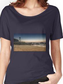 Redhead Beach Shark Tower Women's Relaxed Fit T-Shirt