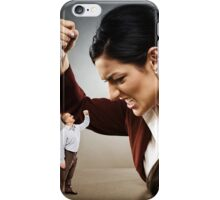 Not afraid of big lady boss iPhone Case/Skin