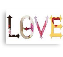Dymond Speers LOVE Canvas Print