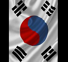 South Korean Flag iPhone / Samsung Galaxy Case by Tucoshoppe