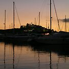Sunset over D'Alt Vila, Ibiza by lizzyforrester