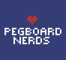 Pegboard Nerds - Pixel Heart by Ly-uu