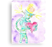 Brain Forces the Love Back Inside. Canvas Print