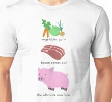 Pigs. The Ultimate Machine. Unisex T-Shirt