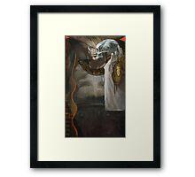 Iron Bull Tarot Framed Print